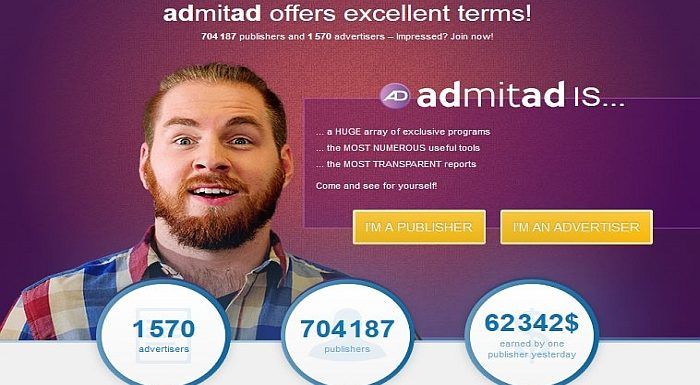 CPA affiliate network Admitad