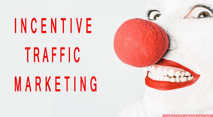 Affiliate marketing incentive traffic