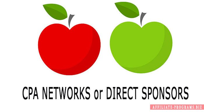 CPA Networks and Direct Sponsors