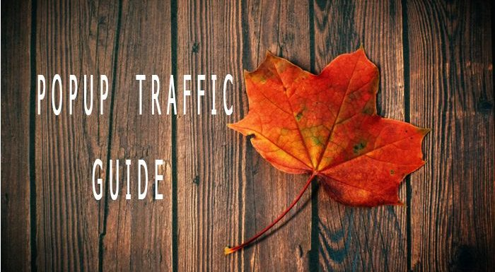 Affiliate marketing guide to popup traffic