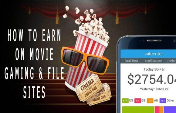 How to earn money on movie and gaming sites
