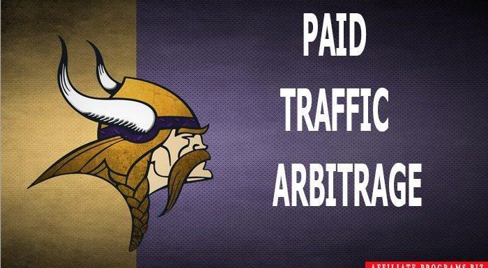 Paid traffic arbitrage