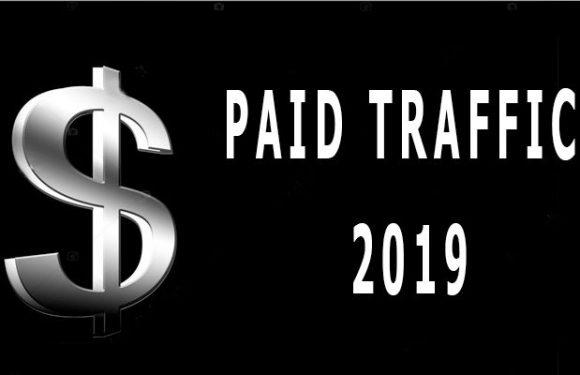 Types of paid traffic 2019
