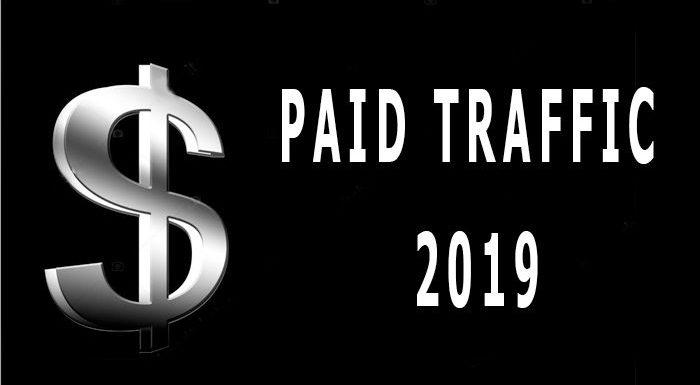 Types of paid traffic 2020