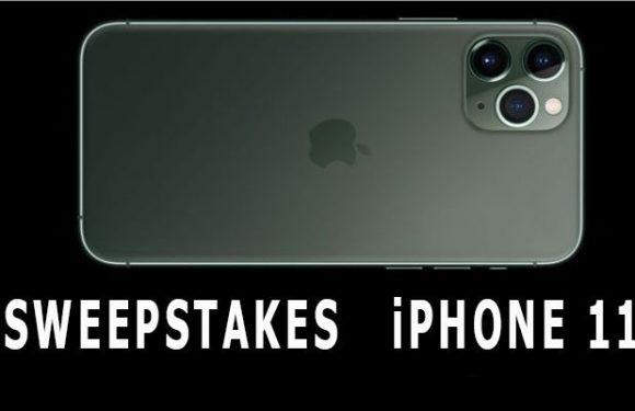 Sweepstakes iPhone 11