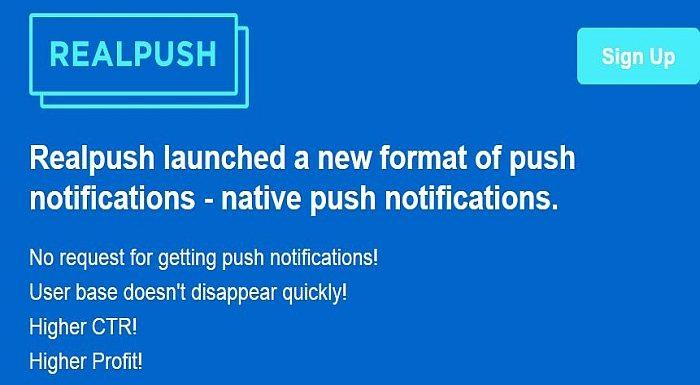 Native Push Notifications
