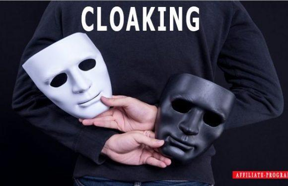 Cloaking in affiliate marketing