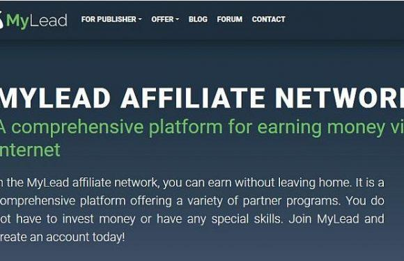 Newbie friendly CPA network MYLEAD