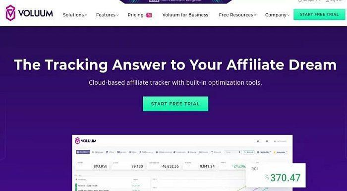 Tracker tool for Traffic Arbitrage Voluum