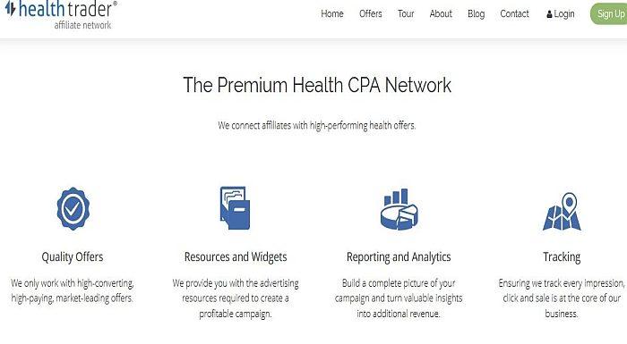 Cash on Delivery Affiliate Program HEALTHTRADER